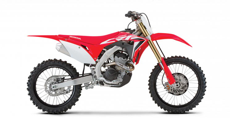2021 Honda CRF250R Extreme Red
