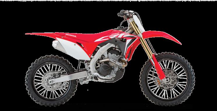 2021 Honda CRF250R Extreme Red