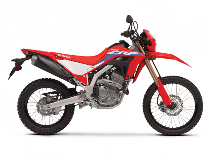 2021 Honda CRF300L Extreme Red