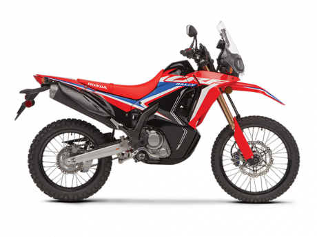 2021 Honda CRF300L RALLY Extreme Red