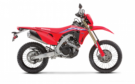 2021 Honda CRF450RL Extreme Red