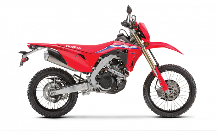 2021 Honda CRF450RL Extreme Red