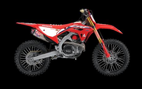 2021 Honda CRF450RWE Extreme Red