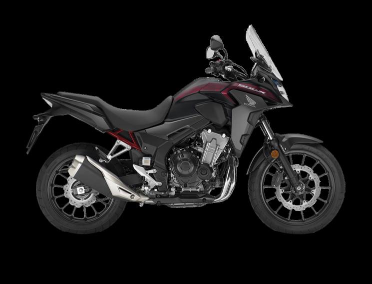 2021 Honda CB500X Matte Gunpowder Black Metallic