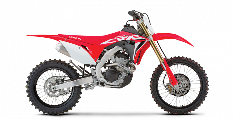 2021 Honda CRF250RX Extreme Red