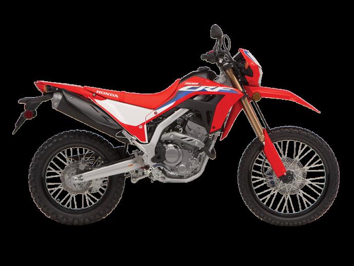 2021 Honda CRF300L Extreme Red