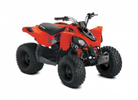 2022 Can-Am DS 70 CAN-AM-RED