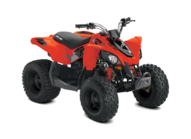 2022 Can-Am DS 90 CAN-AM-RED