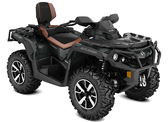2022 Can-Am OUTLANDER MAX LIMITED STONE-GRAY
