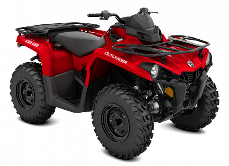 2022 Can-Am OUTLANDER 450 / 570 VIPER-RED