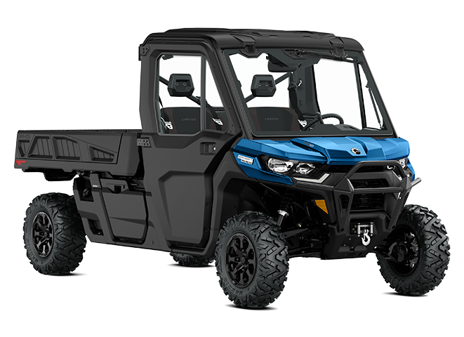 2022 Can-Am DEFENDER PRO LIMITED OXFORD-BLUE