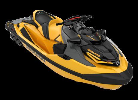 2022 Sea-Doo RXT-X 300 millenium-yellow