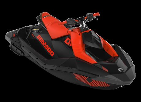 2022 Sea-Doo SPARK TRIXX 2 up lava-red/deep-black
