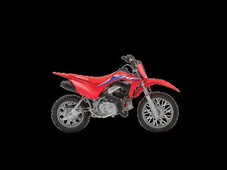 2022 Honda CRF110F Extreme Red