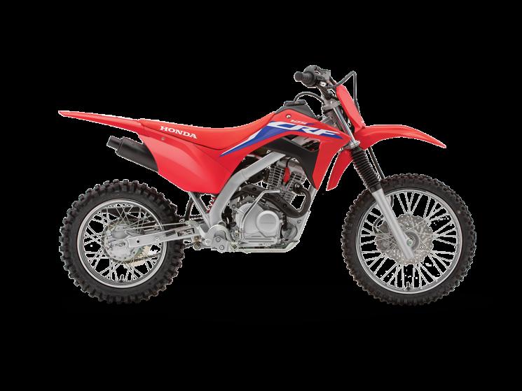 2022 Honda CRF125F Extreme Red