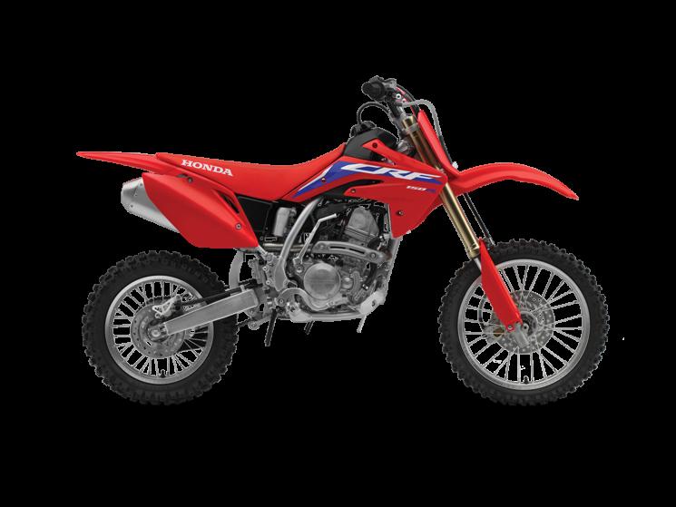 2022 Honda CRF150R Extreme Red