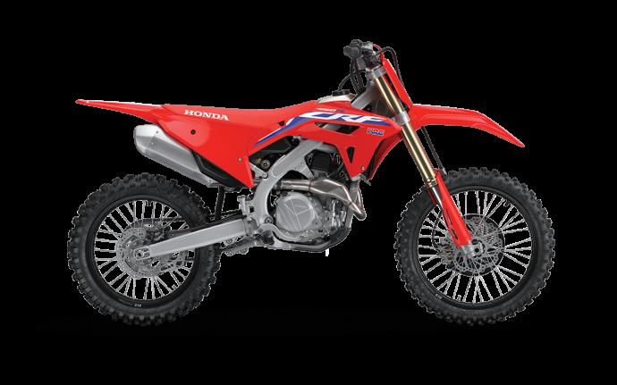 2022 Honda CRF450R Extreme Red