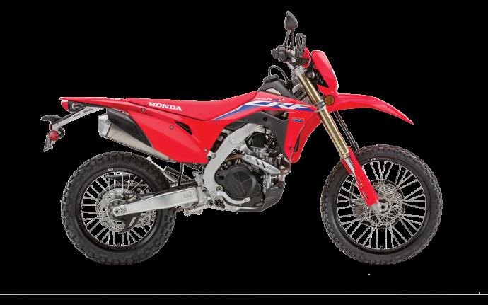 2022 Honda CRF450RL Extreme Red