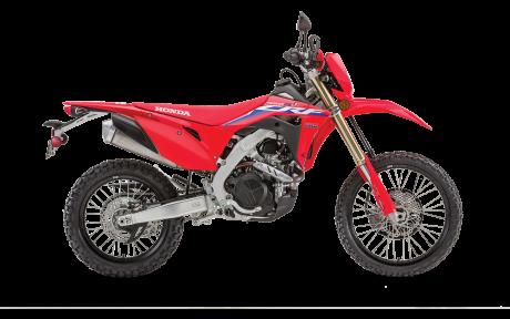 2022 Honda Dirt bikes CRF450RL Extreme Red