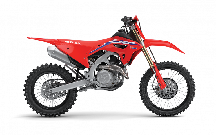 2022 Honda Dirt bikes CRF450RX Extreme Red
